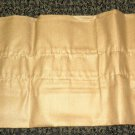 "RV Curtain Valance Color: Light Brown Size: 7"" Wide X 86"" Long #636954"