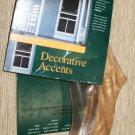 Kok's Woodgoods Decorative Pine Screen Door Trim Accents  Set 2 #SD-10 Pine
