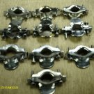 """Metal 3/4"""" Electrical Clamps  10 Pieces"""