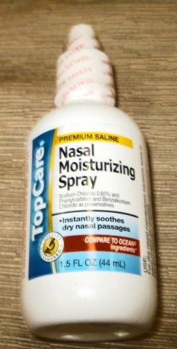 Top Care Premium Saline Nasal Moisturizing Spray  1.5Oz. UPC:036800130296