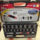 Great Neck Tools 35 Piece SAE & Metric Socket & Ratchet Set #28042 076812280428