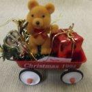 Figi Little Red Wagon Ornament #0513519594 UPC:710534476072