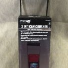 Grip 2 In 1 Can Crusher / Bottle Opener #55200