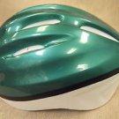Pro Rider Unisex Green / White Bicycle Helmet  UPC:710534477505