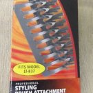 Lava Tech Professional Styling Brush Attachment For Smoothing & Shaping #LT-837