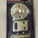 Stanley Bright Brass Decorative Surface Bolt #76-3610 UPC:033923015103