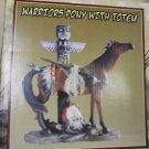 The American Indian Collection Warriors Pony W/ Totem #TS3658 UPC:025405036584