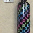 Hot Topic 100% Aluminum Hydration Bottle 25 Ounce -H.C, HeartsUPC:710534472104