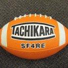 Tachikara Orange SF4RE Intermediate Football  UPC:710534477666