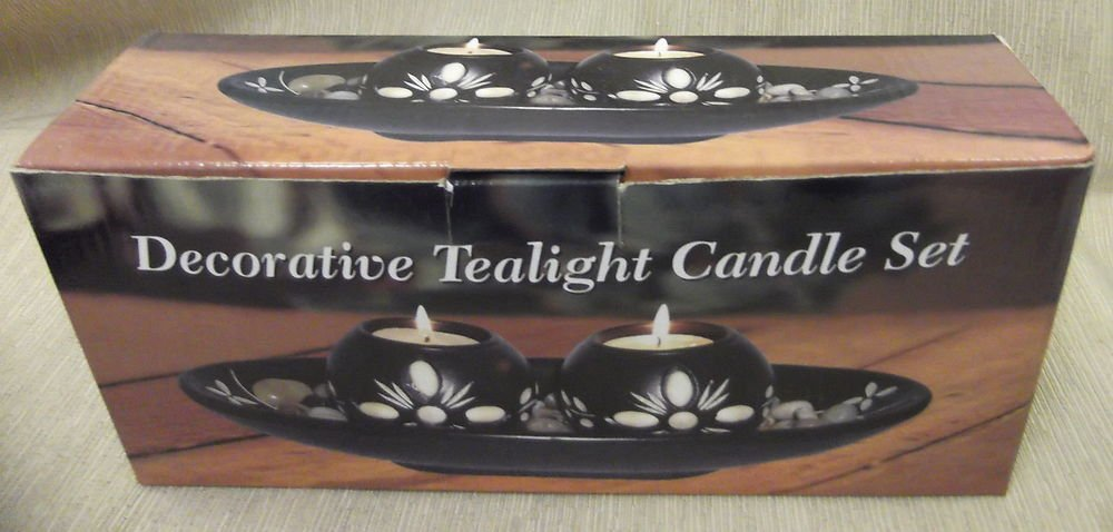 Giftco Decorative Tealight Candle Set #3277 UPC:047256032775