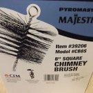 "Pyromaster / Majestic CB8S8"" Square Chimney Brush #39206"