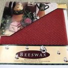 """Wang's Red Beeswax Candle Kit Make 2 8"""" Tapers #CK0026-027 UPC: 046975952340"""