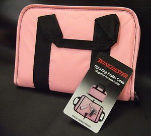 "Winchester 11"" Pink Sporting Pistol Case #WMCSP-80827"