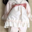 """Brinn's 14 1/2"""" It's A Small World Musical Porcelain Doll With Doll Stand #2NTL"""