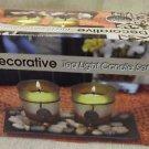 CE Decorative Tea Light Candle Set  4 Pieces #2603 UPC:047256026033