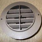 "D & W Inc Brown 2"" Rotaire Heat Vent #3820DB"