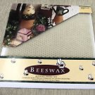 """Wang's White Beeswax Candle Kit Make 2 8"""" Tapers #CK0026-001 UPC: 046975952319"""