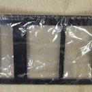 Dorman Black Plastic License Plate Frame #705-315