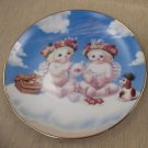 Hamilton Collection Dreamsicles A Heavenly Tea Party Plate #C955 UPC:71053447658