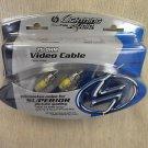 Lighting Audio / Rockford 75OHM 3' Video Cable #LV13-3 UPC:712660326542