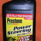 Prestone Power Steering Fluid + Stop Leak 32 Fl. Oz. #P-3924 UPC:7974968761948