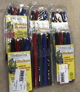 Learning Horizons Write On! Washable Markers 4 Pack X 6 #33002 UPC: 00200057347