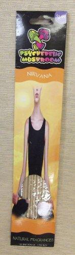 "Psychedelic Mushroom ""Nirvana"" Incense Sticks 2 Packs of 20 UPC:794080175054"