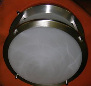 """Gustafuson 12"""" Ceiling Light For RV 's #4C3036TY/G-2050 UPC:710534478977"""
