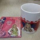 """Disney Hannah Montana Ceramic Mug And 4"""" X 5"""" Photo Frame #073964407918"""