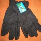 Polar Ice Brown Fleece Fashion Winter Gloves  One Size  UPC:710534478700