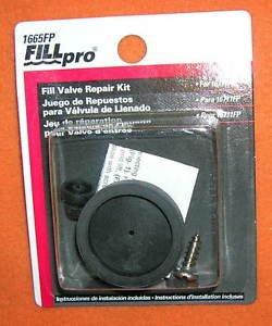 Fill Pro Toilet Fill Valve Repair Kit 12 Pieces #1665FP UPC:071862985606