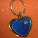 St. Evans Heart / October - Opal Birthstone Key Chain  UPC:710534484534