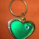 St. Evans Heart / December - Turquoise Birthstone Key Chain  UPC:710534484558