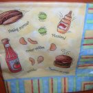 Creative Expressions Paper Art Patio BBQ Luncheon Napkins 3 Ply 16 Ct X 3 #66274