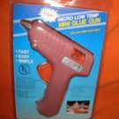 Trigger Micro Low Temp Mini Glue Gun W/ 3 Glue Sticks #LT-301  UPC:710534481748