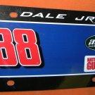 NASCAR Dale Jr. #88 Plastic License Plate  UPC:794080239725