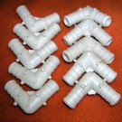 """Odyssey White Plastic Pex Elbow For 1/2"""" Water Line  Pack of 10 UPC:710534483339"""