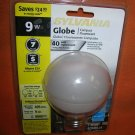 Sylvania Globe 40 Compact Fluorescent Indoor/Outdoor Bulb #CF9EL UPC:04613592495