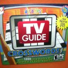 eGames TV Guide Crosswords Puzzles PC CD-Rom  UPC:743999132603