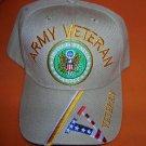 Cap America Tan Army Veteran Baseball Cap -  Adjustable   UPC:710534482820