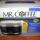Mr. Coffee Replacement White  Decanter #PD12 UPC:072179003717