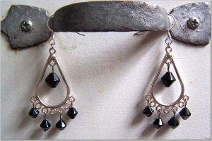 Black & Silver Chandeliers