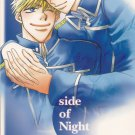 YF16  Full Metal Alchemist Doujinshi Side of Night ADULT by Kouji Renkin Havoc x Roy