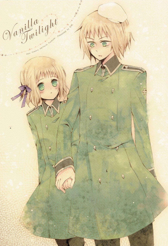 Axis Powers Hetalia Doujinshi Switzerland x Lichtenstien YH17 Vanilla Twilight by KiW