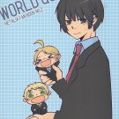Axis Powers Hetalia Doujinshi UK , Japan , US YH73 World Question by Blue Days