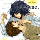 YDN22 Death Note	Doujinshi Honey come Honey	by Candy Muddler	L x Light	44 pages