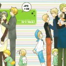 YH25 Hetalia Doujinshi by Hana x Hana	Various / Japan x UK	58 pages