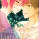 YI23 Free! Iwatobi Swim Club Doujinshi  by Blue Bell	Makoto x Rin 18+ ADULT