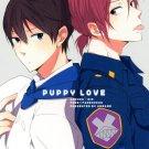 YI74 Free! Iwatobi Swim Club Doujinshi Puppy Loveby AmeameHaruka x Rin