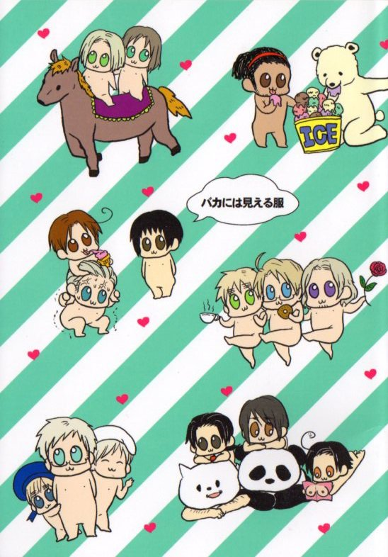 YH6 Hetalia 18+ ADULT Doujinshi All Cast26 pages